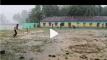 বৃষ্টির মাঝে ক্রিকেটে ফিরে এল শৈশব, আইসিসিতে উজ্জ্বল দেশের নাম