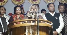 শেখ হাসিনাকে 'শান্তির বৃক্ষ' বললেন মতিয়া চৌধুরী