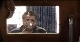 ক্যামেরা দেখেই অসুস্থ হয়ে শুয়ে পড়লেন সাহেদ (ভিডিও)