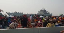 ভাসানচরে পৌঁছেছে ২০১০ রোহিঙ্গা