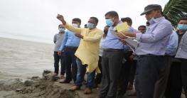 নদী ভাঙন কবলিত এলাকা পরিদর্শন করেছেন নোয়াখালী জেলা প্রশাসক