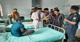 নোয়াখালীতে কারাগার পরিদর্শনে জেলা সিভিল সার্জন