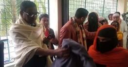 কোম্পানীগঞ্জে সেতুমন্ত্রীর পক্ষে ছয় হাজার শীতবস্ত্র বিতরণ