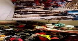 গ্যাসের চাপ ও মশা মারার ইলেকট্রিক প্যাডে স্পার্কিং এ বিস্ফোরণ