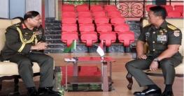 সেনাবাহিনী প্রধানের সাথে ইন্দোনেশিয়ার সেনাবাহিনী প্রধানের সাক্ষাৎ