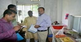 অনিয়মের দায়ে চাপরাশিরহাট বাজারে ৪ প্রতিষ্ঠানকে জরিমানা