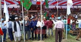 বেগমগঞ্জে শুরু হয়েছে বঙ্গবন্ধু টি-২০ ক্রিকেট