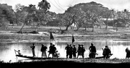 কুমিল্লার সেনেরবাজারে পাকবাহিনীর দুটি নৌকা ডুবে অনেক সৈন্য নিহত