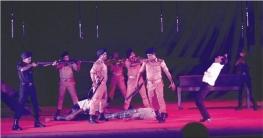 """কুমিল্লায় মঞ্চায়িত হলো নাটক """"অভিশপ্ত আগস্ট"""""""