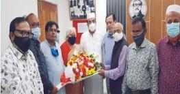 এমপি বাহারের সাথে নবগঠিত কুমিল্লা রেড ক্রিসেন্ট ইউনিটের সাক্ষাত