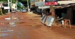 ফরিদগঞ্জ-রূপসা সড়কের কাজের মেয়াদ শেষ হলেও শেষ হয়নি কাজ